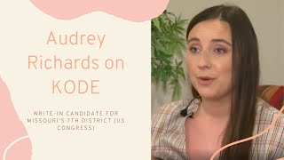 Audrey Richards Interviewed on KODE