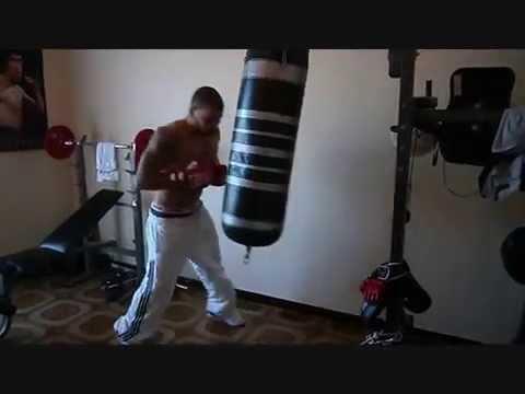 Allenamento Boxe Pugilato - Il sacco fa bene