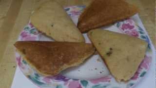 No Milk Sandwich Toaster Corn Bread Experiment