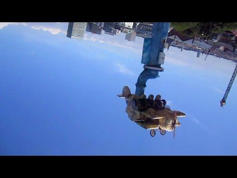 Vertigo forwards & backwards on-ride HD POV Tivoli Gardens