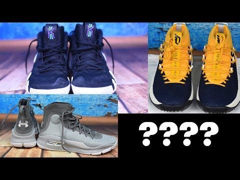 Kyrie 4, Dame 4 oder Curry 4?? Der beste Basketballschuh für Pointguards