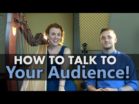 How to talk to audience members after a performance!
