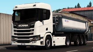 [1.34] Euro Truck Simulator 2 | Scania NextGen R&S No Spoiler | Mods