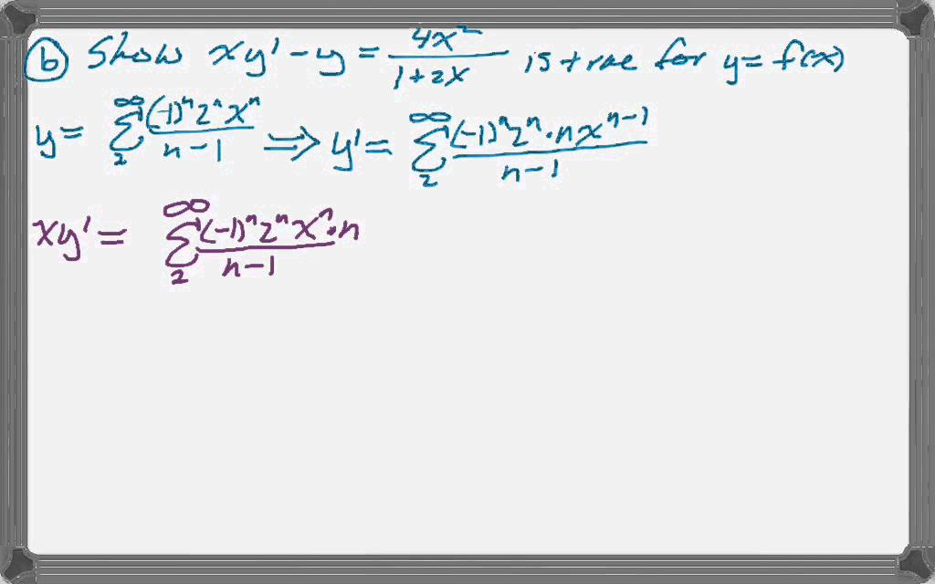 Calc BC 2010 (Form B) FRQ #6 - YouTube