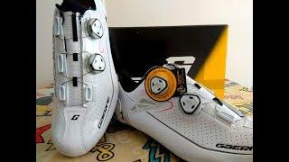 Gaerne Chrono Carbon . Una zapatilla de ciclismo excepcional .