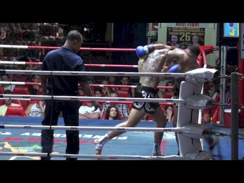 Super Elbow KO: Kevin Foster (Tiger Muay Thai) vs Taharnaek (Aek Muay Thai)