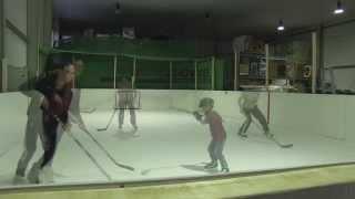 Synthetisches Eis   Eisbahn Eishockey Kunsteis