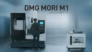 M1 Milling Machine Accessibility - DMG MORI