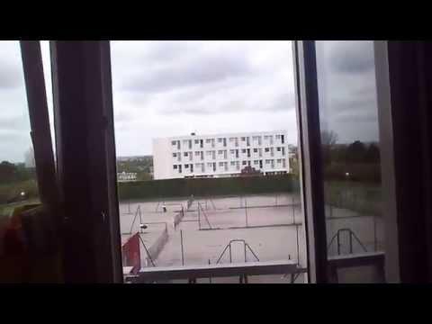 University Caen Dormitory Room Building A