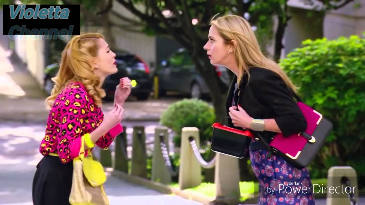 Download Violetta 3 English - Priscilla pushed Vilu down the stairs Ep.66