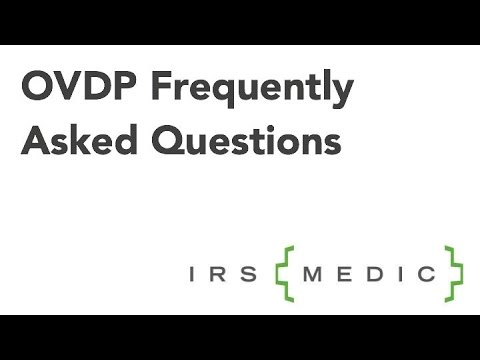 Offshore Voluntary Disclosure Program FAQs -- OVDP Updates 2015