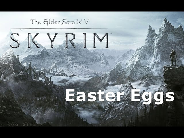 Easter Eggs Dos Games The Elder Scrolls V Skyrim