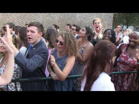 Convocation 2016: The Welcome Walk