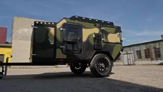 "Off-road trailer camper ""CHEGLOCK"""