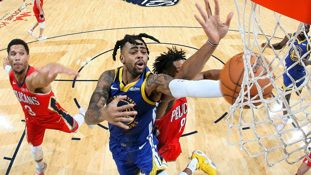 Highlights: Warriors 134 - Pelicans 123 | Oct. 28, 2019 - YouTube