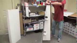 Easel Assembly Instructions For Your Cardboard Standup Cutout Prop