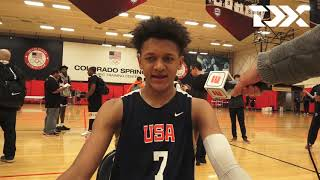 Paolo Banchero: 2018 USA Basketball Junior Minicamp Interview