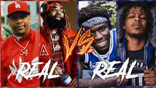 REAL Blood Rappers Vs Real Crip Rappers 2020
