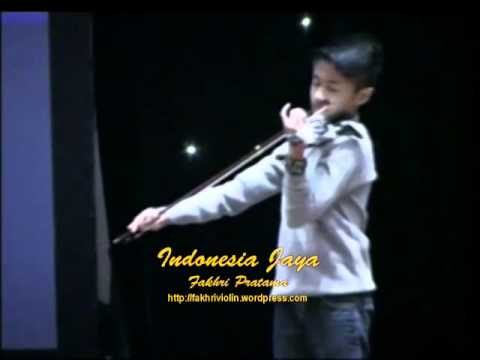 Indonesia Jaya - Fakhri Violin