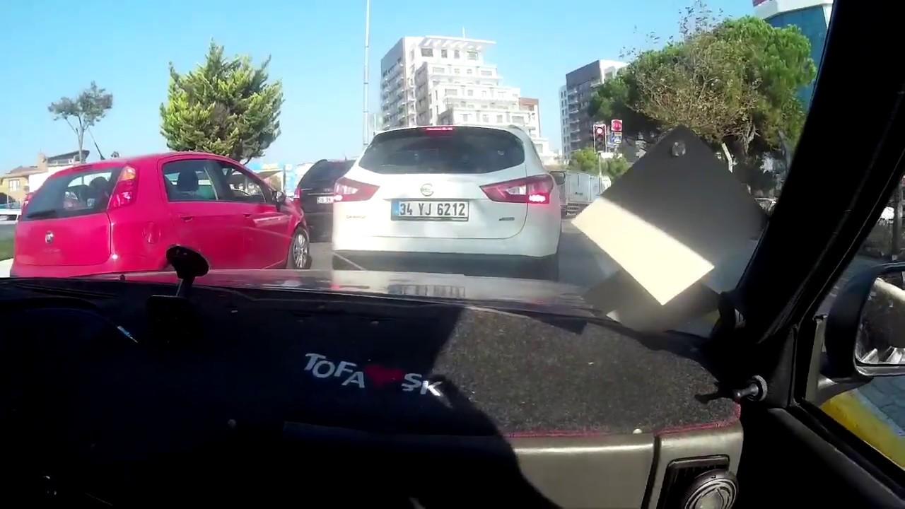 araba sürme Öğren / yokuş kalkış / aktif araç sürme dersi / tofaş