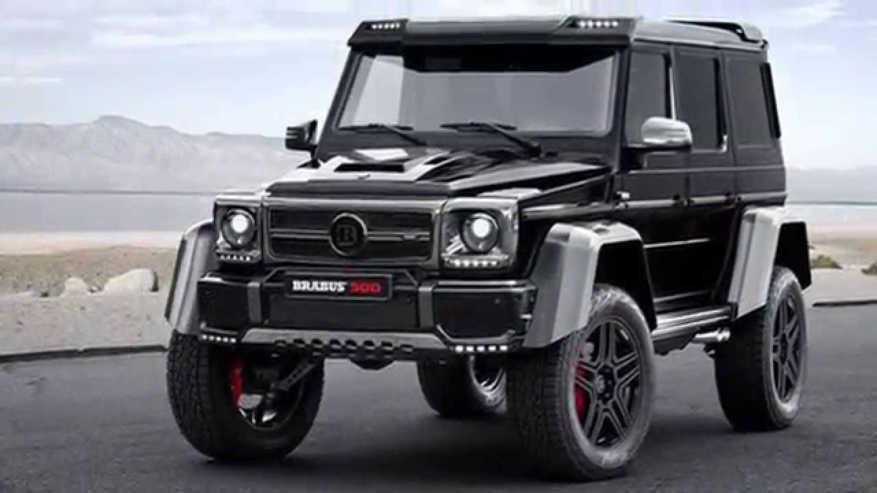 mercedes benz g500 4x4 tuning by brabus youtube. Black Bedroom Furniture Sets. Home Design Ideas
