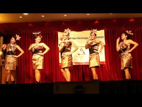 Asian Heritage Calgary. Serng Pong Lang. Thai Dance.