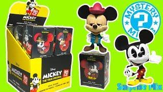 Коробочки МИККИ МАУС 90 ЛЕТ из США Сюрпризы FUNKO Mystery Minis MICKEY MOUSE 90 YEARS boxes Unboxing