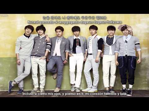INFINITE - Beautiful [Sub español + Hangul + Rom]