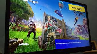 Owais plays fortnite yeah for the first nite get it