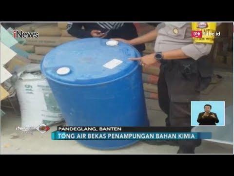 Waspada!! 2 Orang Di Pandeglang Tewas Akibat Tong Bekas Bahan Kimia - INews Siang 27/08