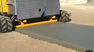 FASTLANE(TM) paving machine