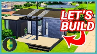 Let's Build a Starter Home (Sims 4)