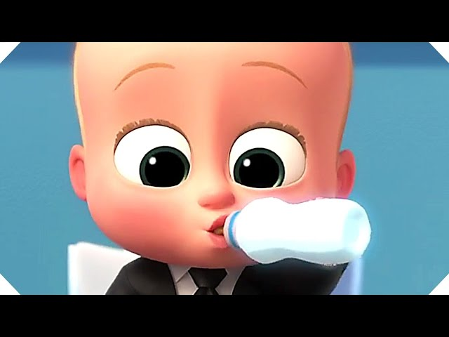 THE BOSS BABY Trailer (Animation, 2017)