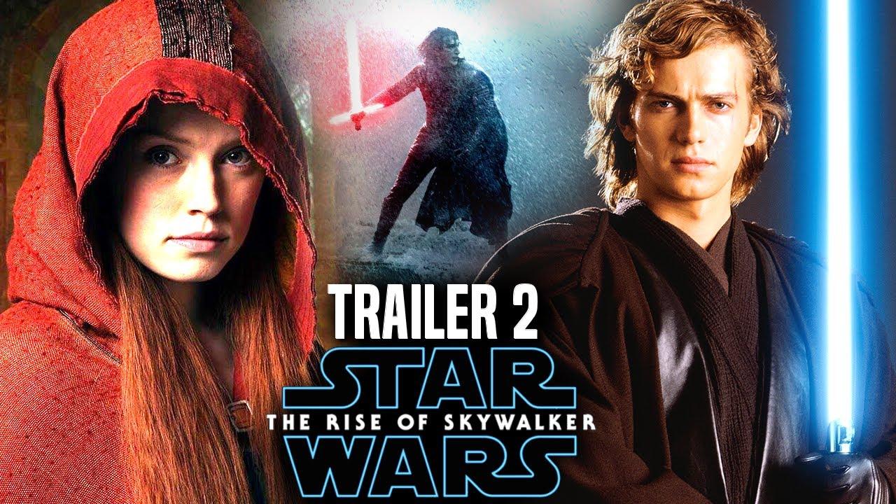 Star Wars The Rise Of Skywalker Trailer 2 HUGE News Revealed! (Star Wars  Episode 9)