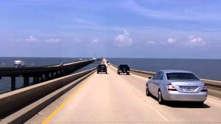 The World's Longest Overwater Bridge (the Lake Pontchartrain Causeway)