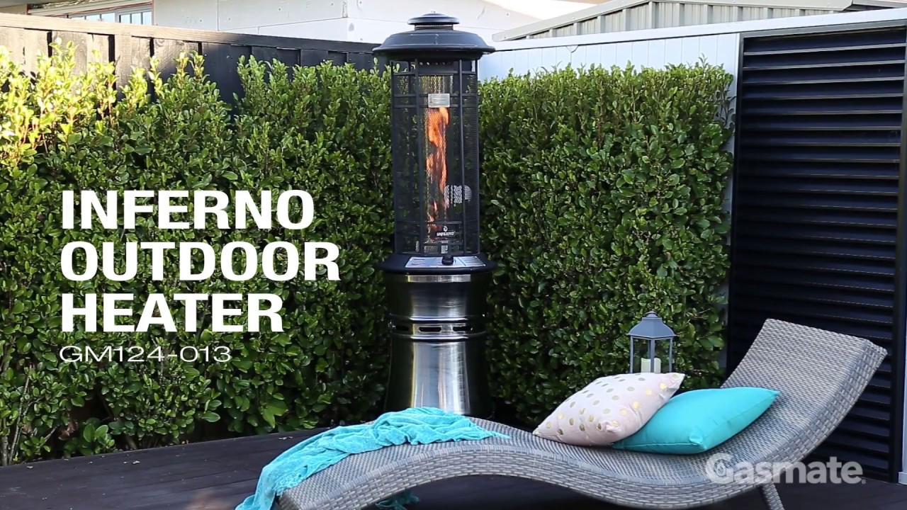 Gasmate Inferno Outdoor Heater - Gasmate Inferno Outdoor Heater - YouTube