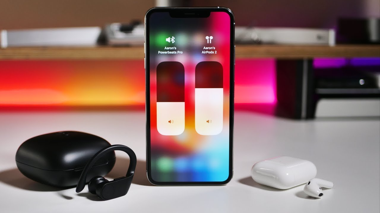 Ios 13 How To Use Multiple Wireless Headphones With Iphone Ipad Or Ipod Touch Youtube