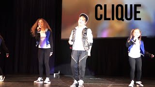 MattyB and the Haschak Sisters - Clique (Live in Boston)