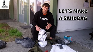 How to Make a Sandbag for Strength and Conditioning