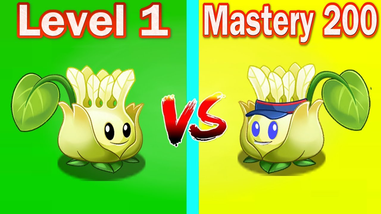 Download PVZ 2 Challenge Level | New Plants Badmint Pult Max Level Power Up  [ Level 1 vs Mastery 200 ]