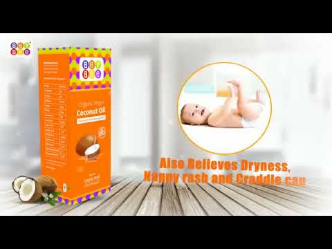 Best coconut oil for baby massage, Skin and hair by Bey Bee