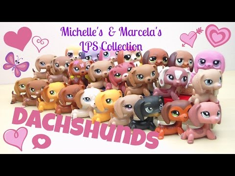 LPS World's Biggest Collection- Pinky's Littlest Pet Shop Dachshunds