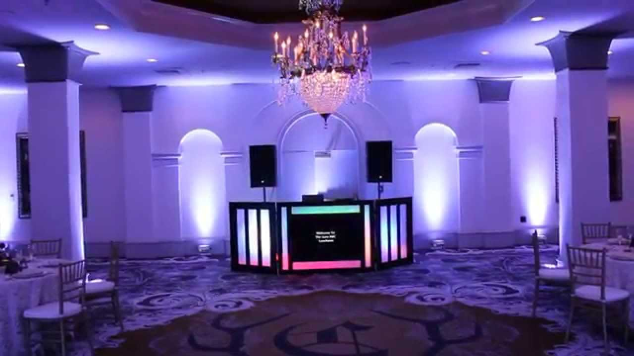 Wedding Lighting Options Castle Hotel Orlando Kessler Dj And You