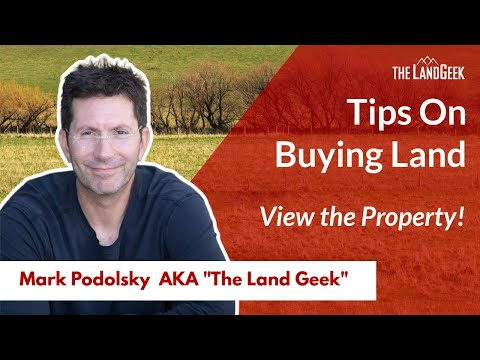 Tip#1 in Buying a Property or Rural Land