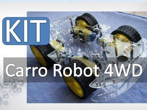 Kit Chasis para Carro Robot 4WD Con Encoders US$ 20 banggood.com