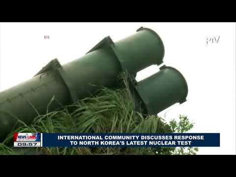 GLOBAL NEWS: International community discusses response to North Korea's latest nuclear test
