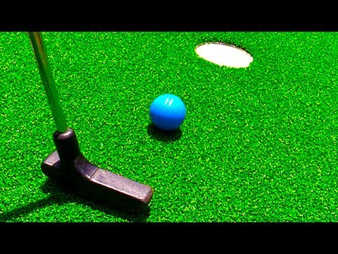 Mini Golf Let's Play For Real! Loser Eats Bean Boozled Challenge! - Mini Golf Game | Matt3756