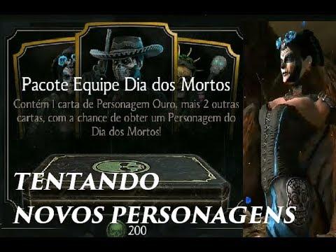 Mortal Kombat X - Comprando Pacote Dia dos Mortos thumbnail
