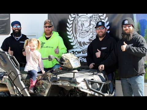 New York to Kansas - ATV Prize Delivery!  ★ POWERSPORT FREAKS