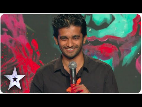 Vilas Nayak Paints Giant Joker Portrait In 2.5 Minutes | Asia's Got Talent Episode 5